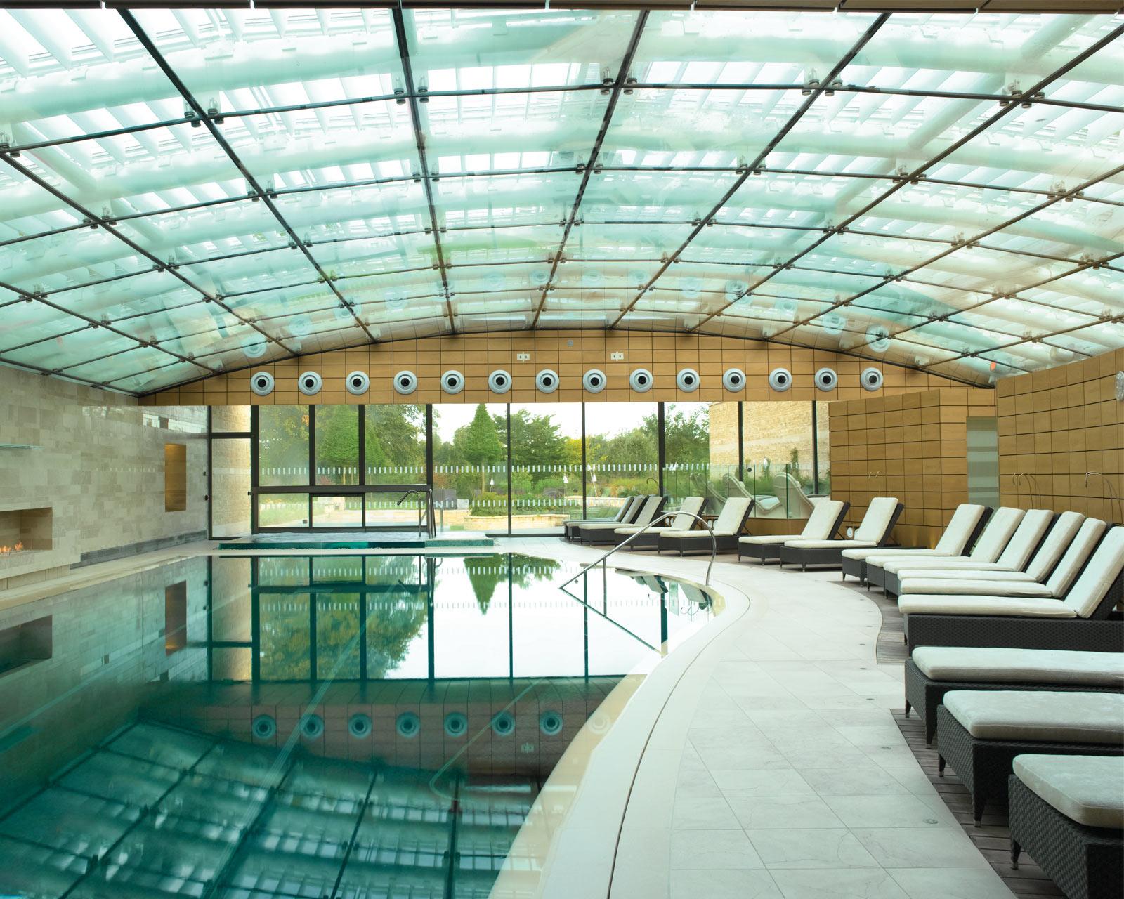 Blissful beginnings lucknam park for Chippenham outdoor swimming pool